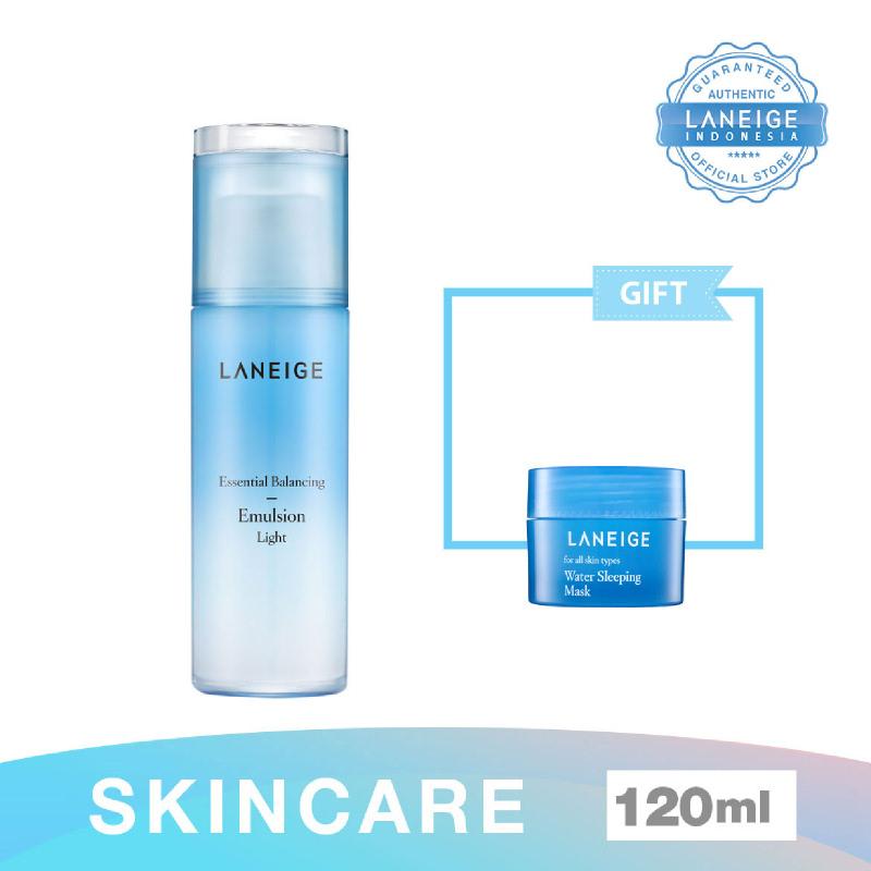 000000479590 Laneige Essential Balancing Emulsion Light 12 + Water Sleeping Mask 15Ml (S)