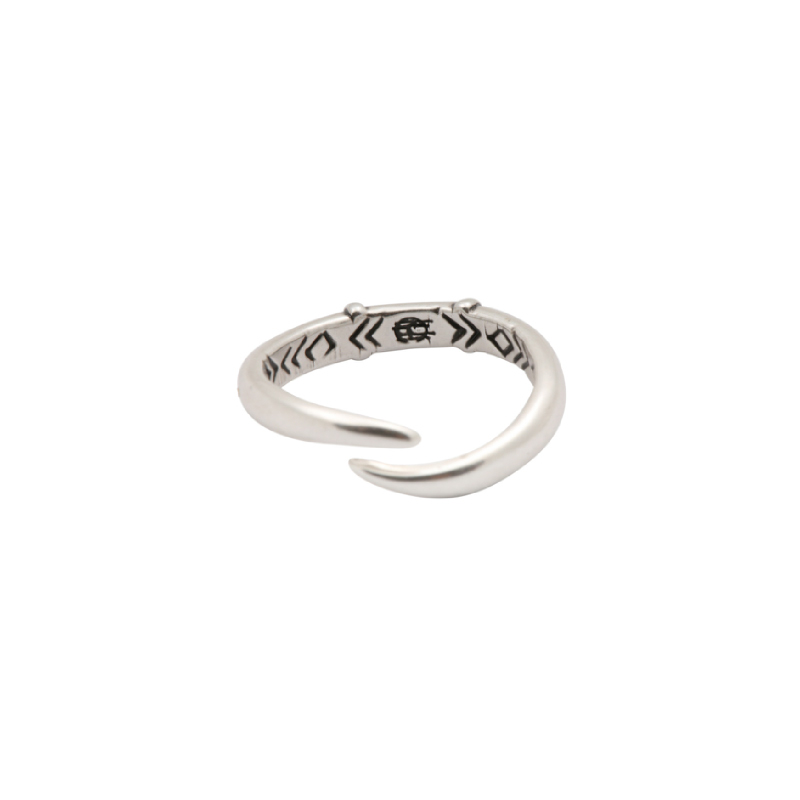 House of Harlow 1960 - Arid Ring Silver (Size 6)
