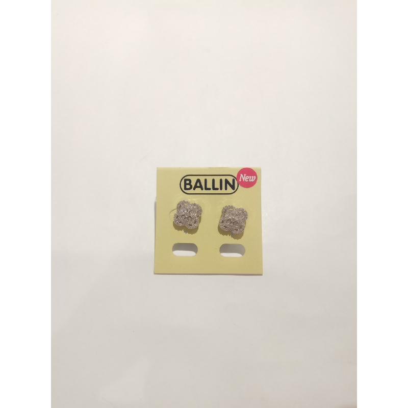 Ballin - Women Earring FF E0138S Silver