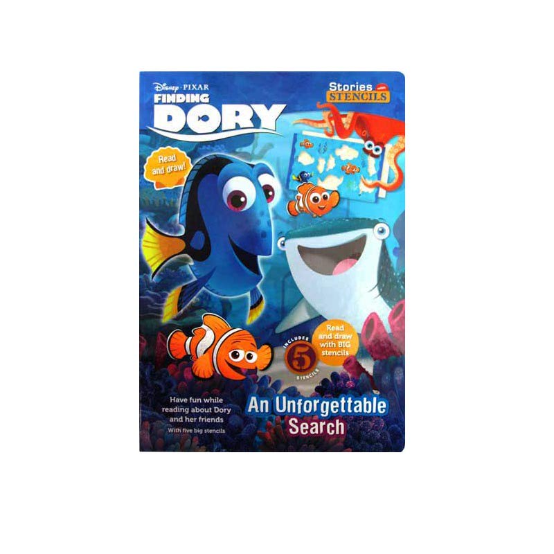 Disney Pixar Finding Dory Stories With Stencil An Unforgettable Search