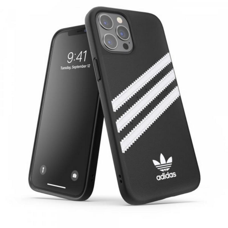 Adidas iPhone 12 Pro Max Samba Case - Black White 42231