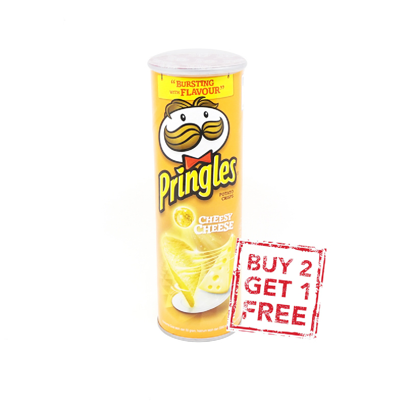 Pringles Cheesy Cheese 110 G (Buy 2 Get 1)