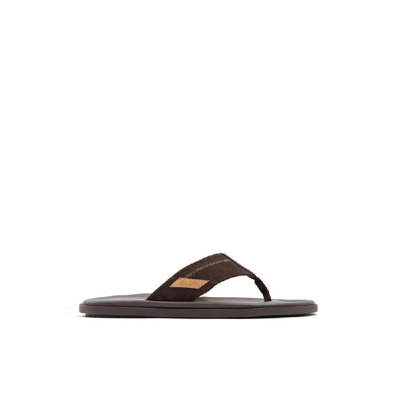 Aldo Men Footwear Sandals Colvestone-201-Dark Brown
