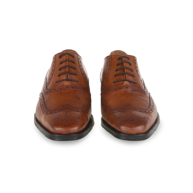 Ftale Esta Sepatu Formal Pria  - Patina Cuo - Tan