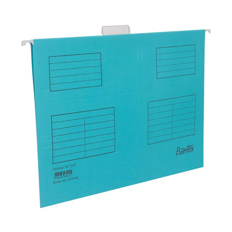 Bantex Suspension file (Hang map) Folio Cobalt Blue -3470 11