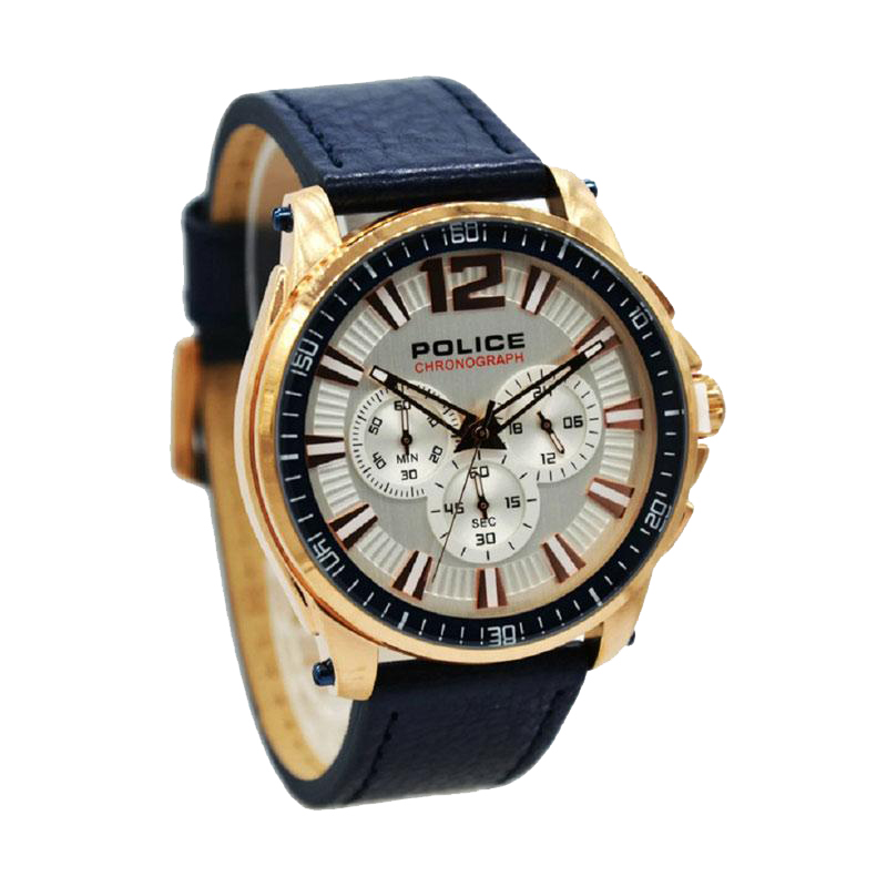 POLICE PL.15139JBCR-04 - Navy Rose Gold