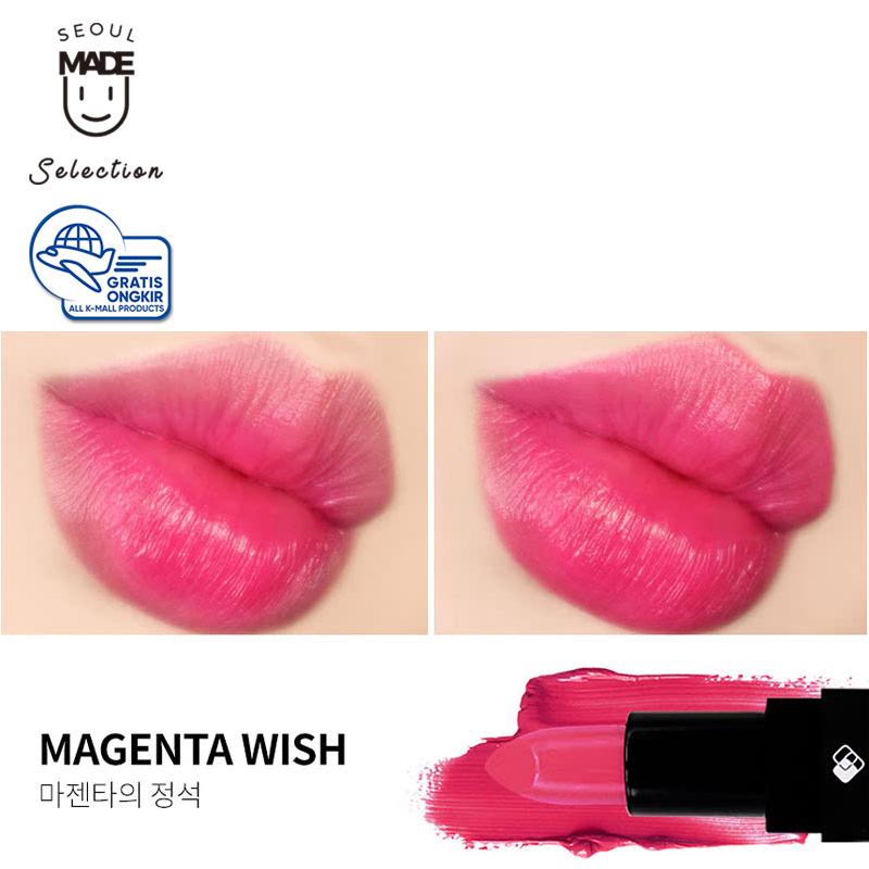 Keybo Glow Click Lipstick Magenta Wish