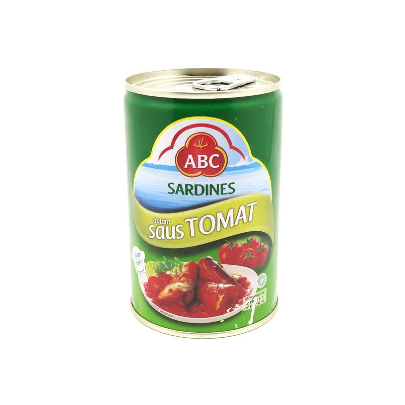 Abc Sardine Saus Tomat 425 Gram