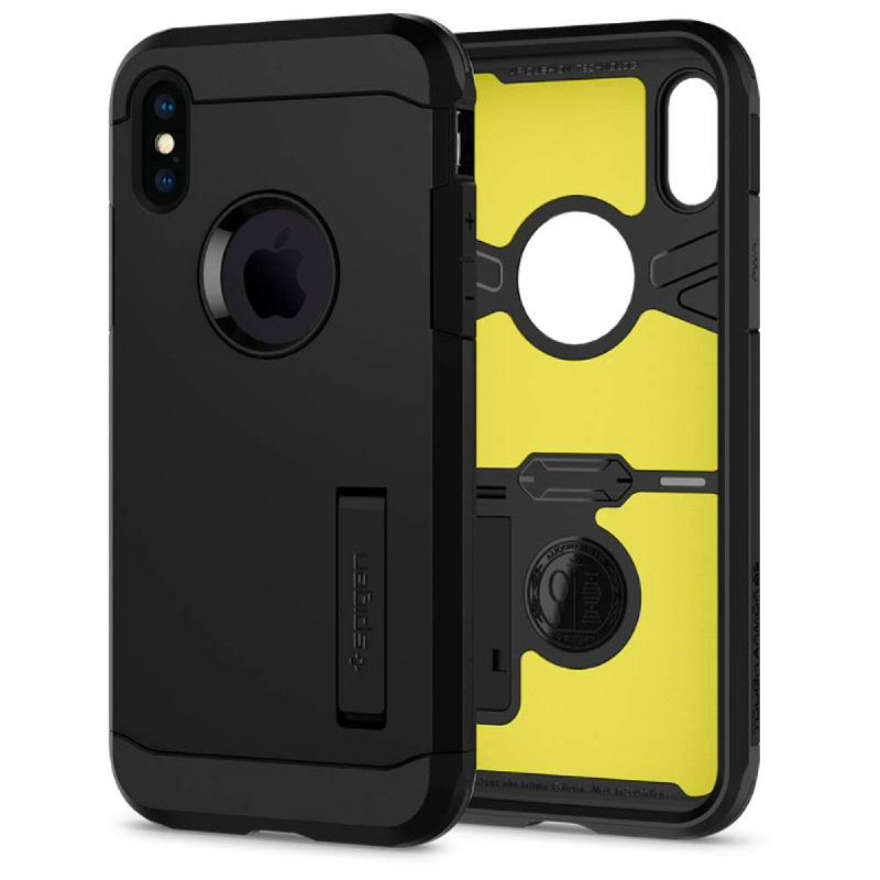 Spigen iPhone XS, X Case Tough Armor XP - Black