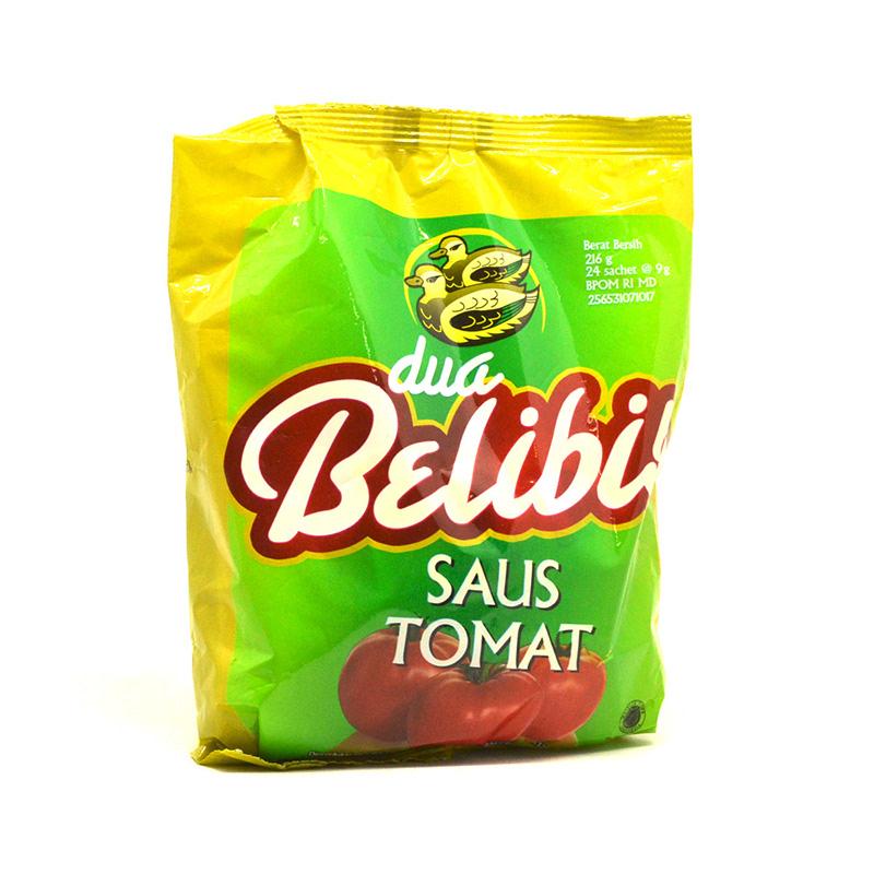 Dua Belibis Saus Tomat Sachet 25 X 10 G