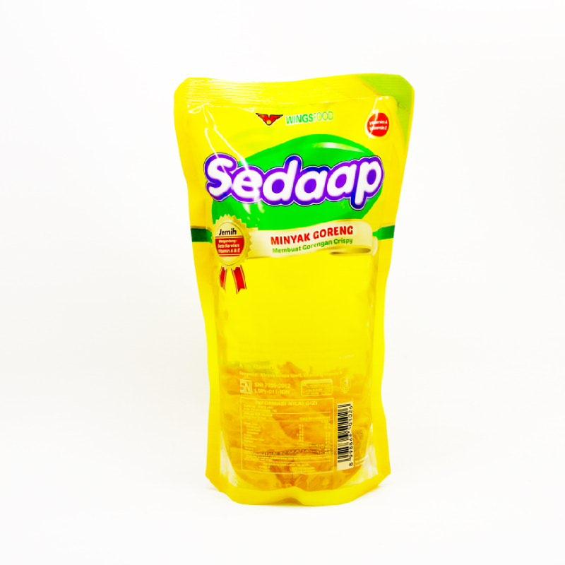 SEDAAP MINYAK GORENG POUCH 1L