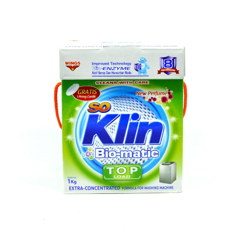 So Klin Biomatic Top Load Kotak 1Kg
