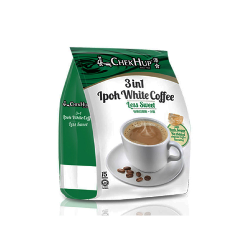 Chek Hup 3 In 1 Ipoh White Cofee Less