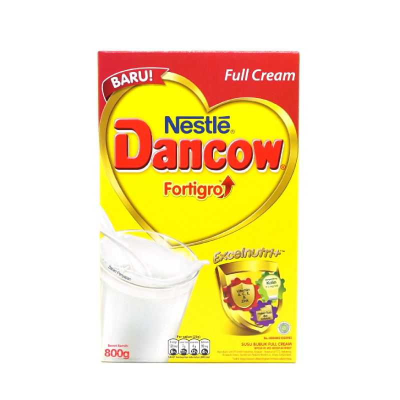 Dancow Full Cream Fe Bib 800g
