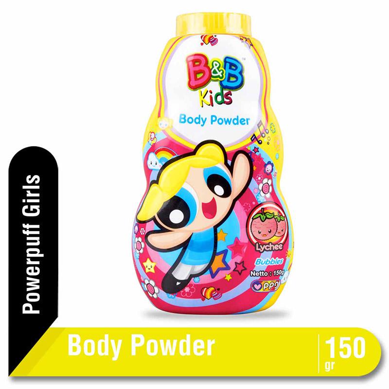 B&B Kids Body Powder Bubbles 150 G