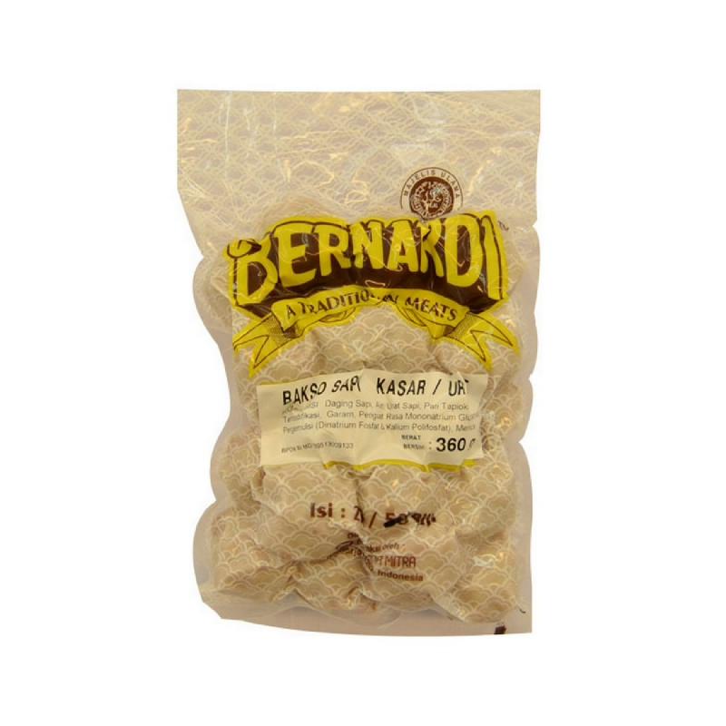 Bernardi Bakso Sapi Kasar 360 Gr Isi 25 Pcs
