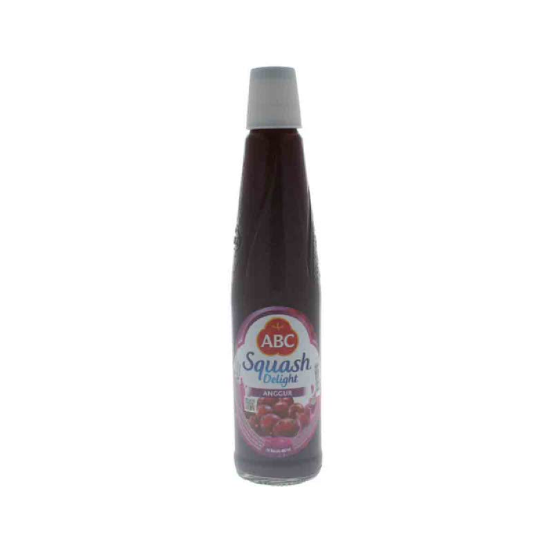Abc Squash Grape Botol 460 Ml