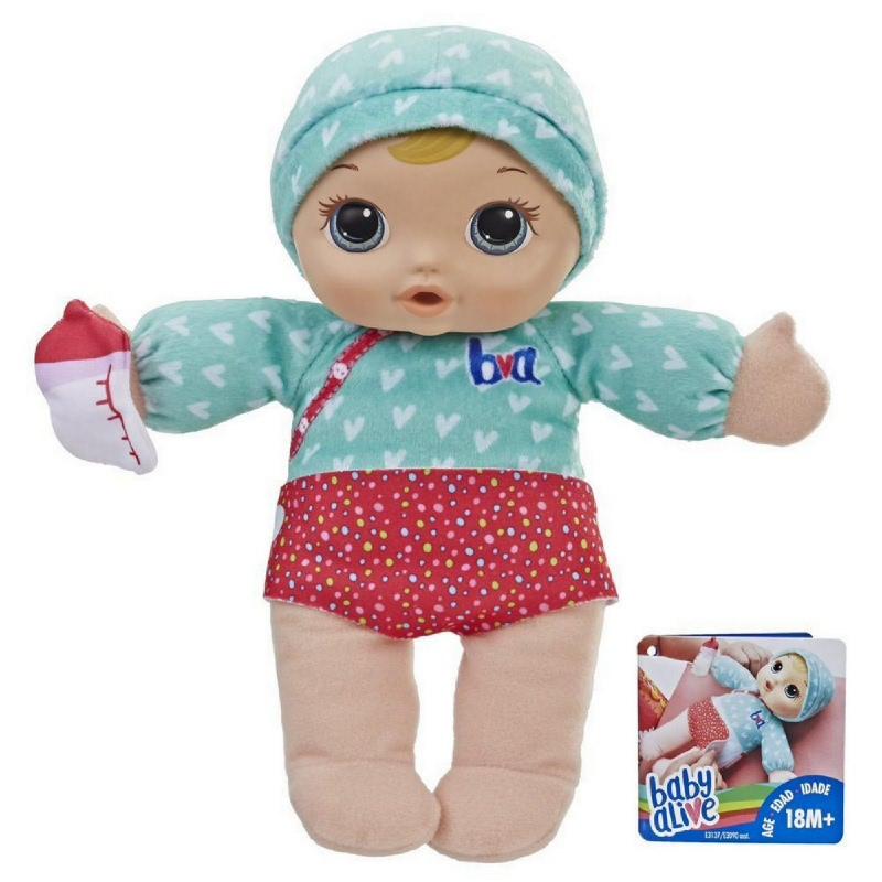 Baby Alive Change N Cuddle Baby Bld Hair E3137