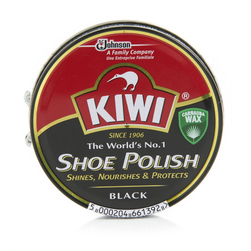 Kiwi Paste Shoe Polish Black 100Ml