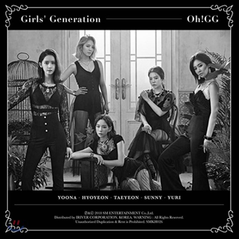 [CD] Girls' Generation-Oh!GG - Lil' Touch [Kihno Album]