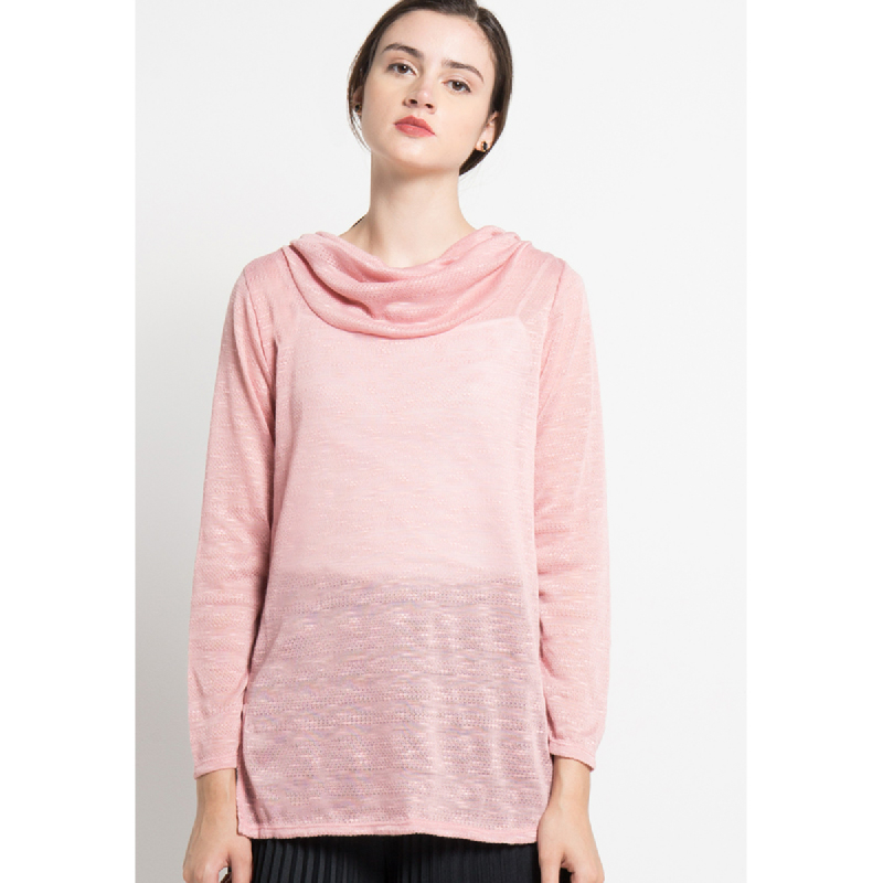 Simplicity Long Sleeve Dusty Pink