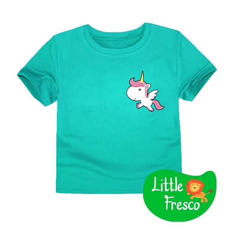 Little Fresco - Kaos Anak Unifly Hijau Muda