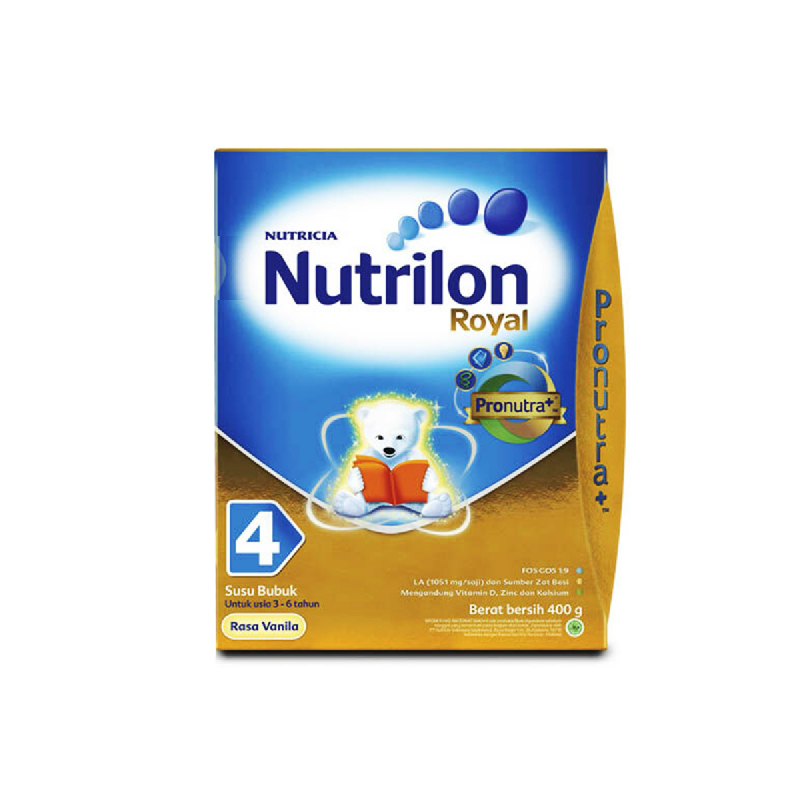 Nutrilon Powder Milk Royal 4 Vanilla 400G