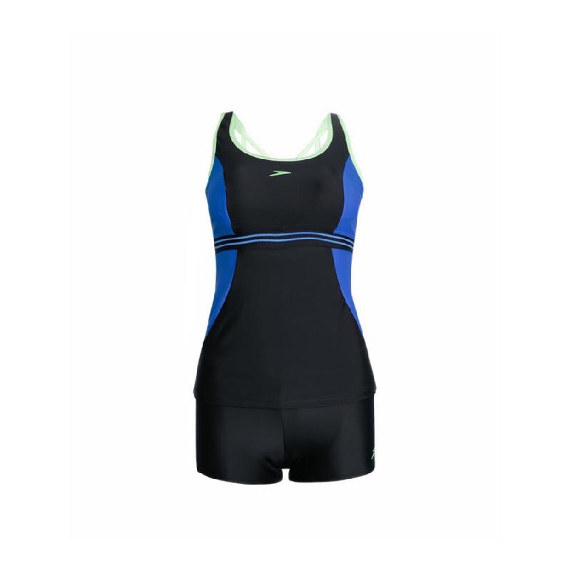 Speedo Tankini Bodyleg Women Swimwear Black
