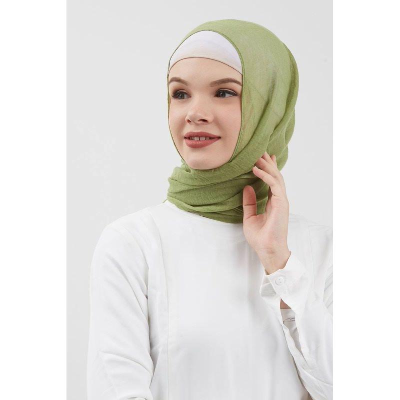 Dara Pashmina Plain Dusty Green