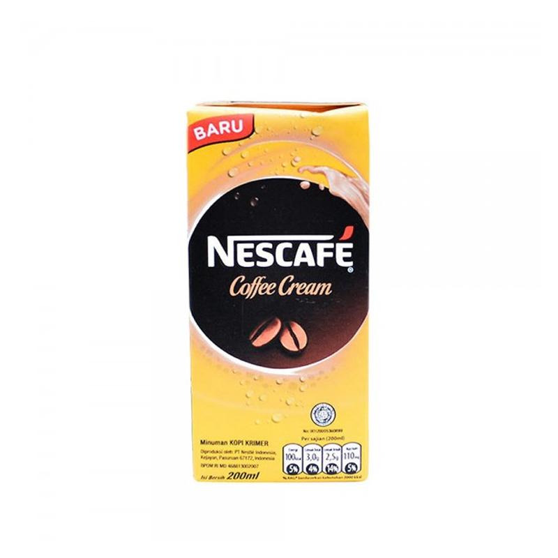 Nescafe Coffee Cream Uht 200 Ml