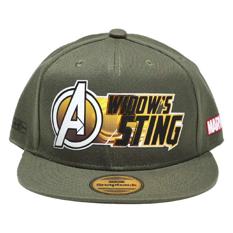 Snapback The Avengers sting Cap Green