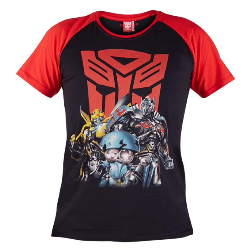 Autobots Raglan T-Shirt Kids Black