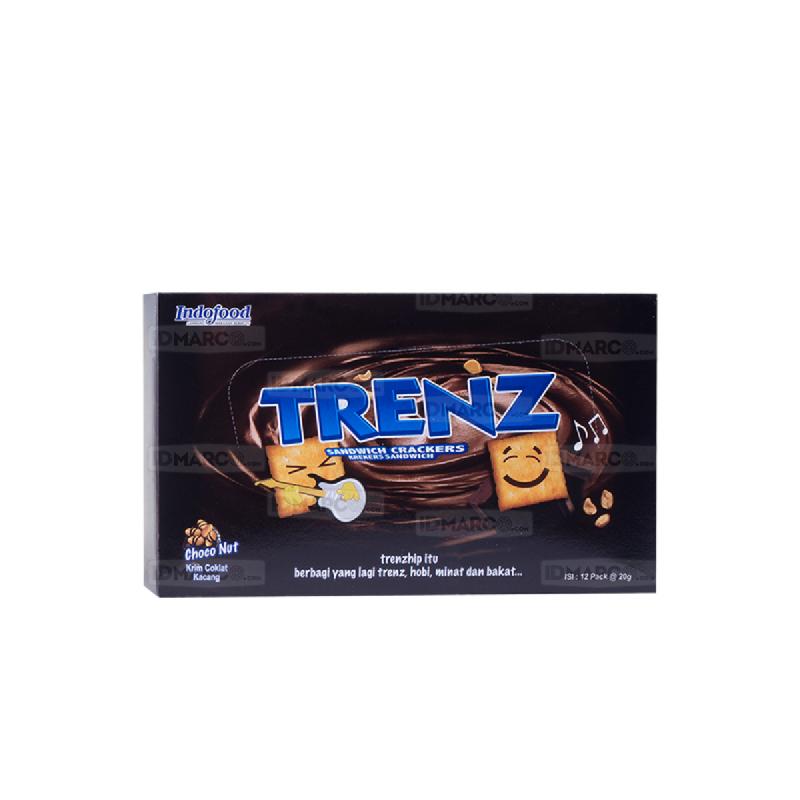 Trenz Sandwich Cokelat Kacang 20 gr