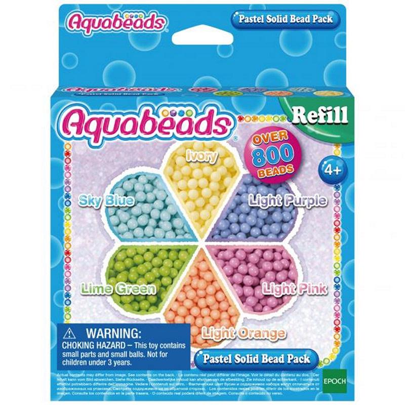 Aquabeads En Pastel Solid Bead Pack - TEAQ31360