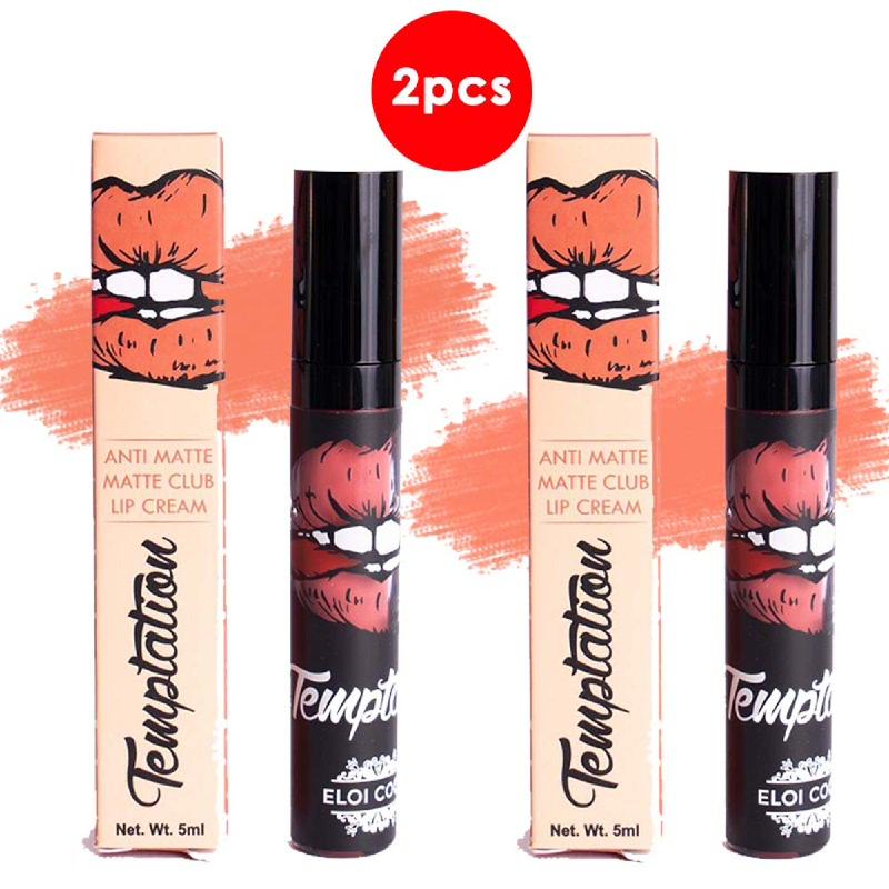 Temptation Anti Matte Matte Club Lip Cream Lady Boss 5ml (2pcs)