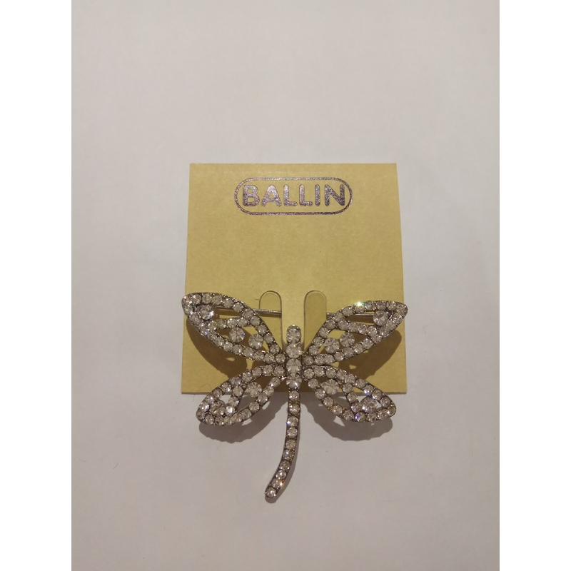 Ballin Women Brooch RF-BR2481S Silver
