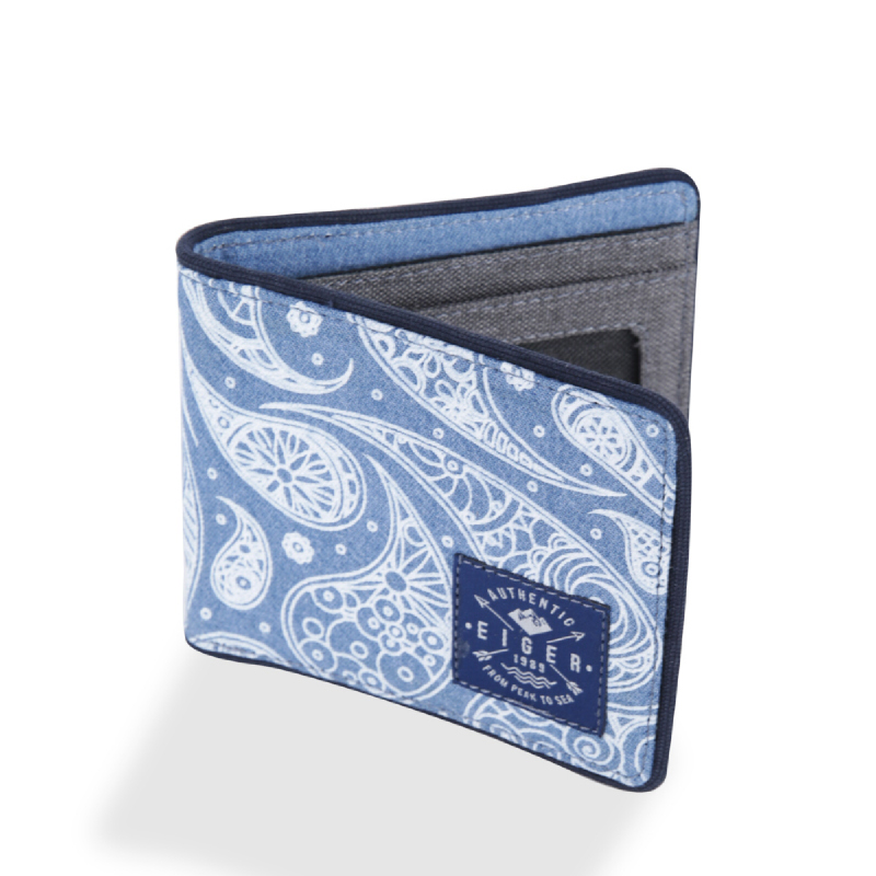 Eiger 1989 Seaside Wallet - Blue