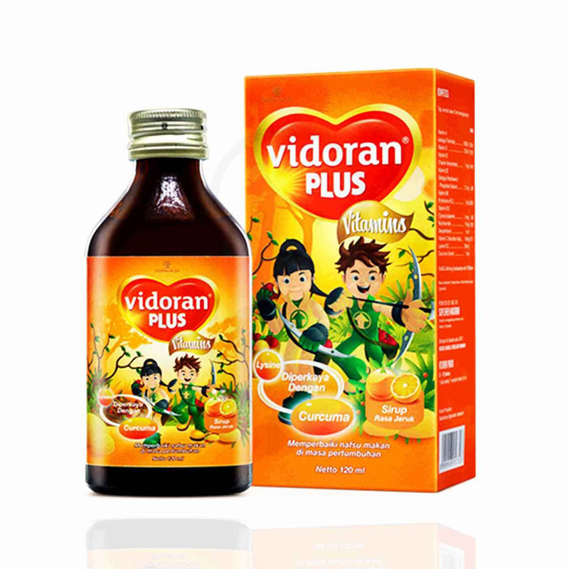 Vidoran Plus Syrup 120 Ml