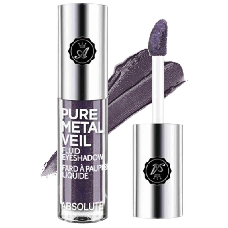 Absolute New York Pure Metal Veil Fluid Eyeshadow Posh Plum