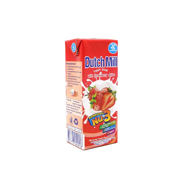 Dutch  Mill Yoghurt Strawberry 180Ml