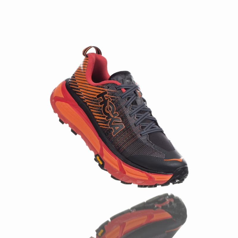 Hoka One One EVO Mafate 2 Women Running Shoes Black