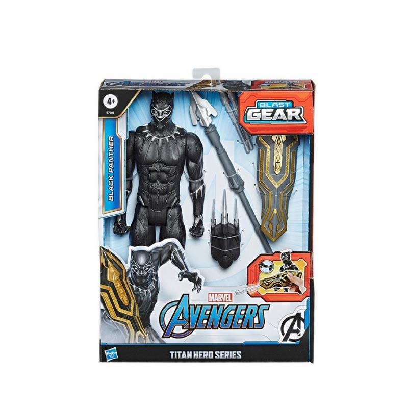 Avengers Titan Hero Series Blast Gear Black Panther - AVSE7388
