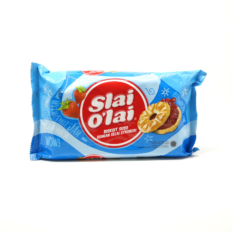 Slai Olai Biscuit Strawberry 240G