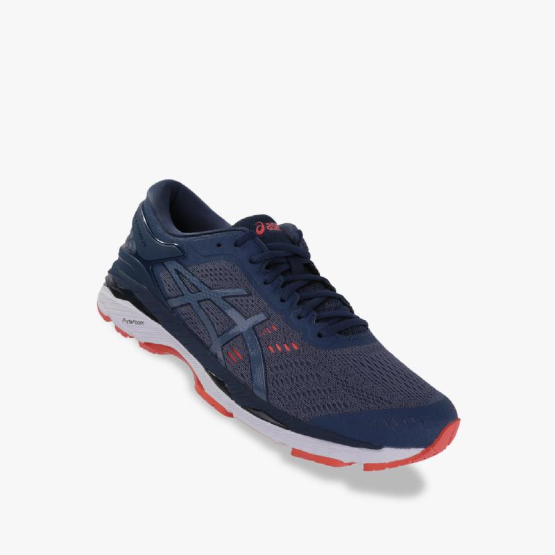 Asics Gel-Kayano 24 Men Running Shoes - Standard Wide Blue
