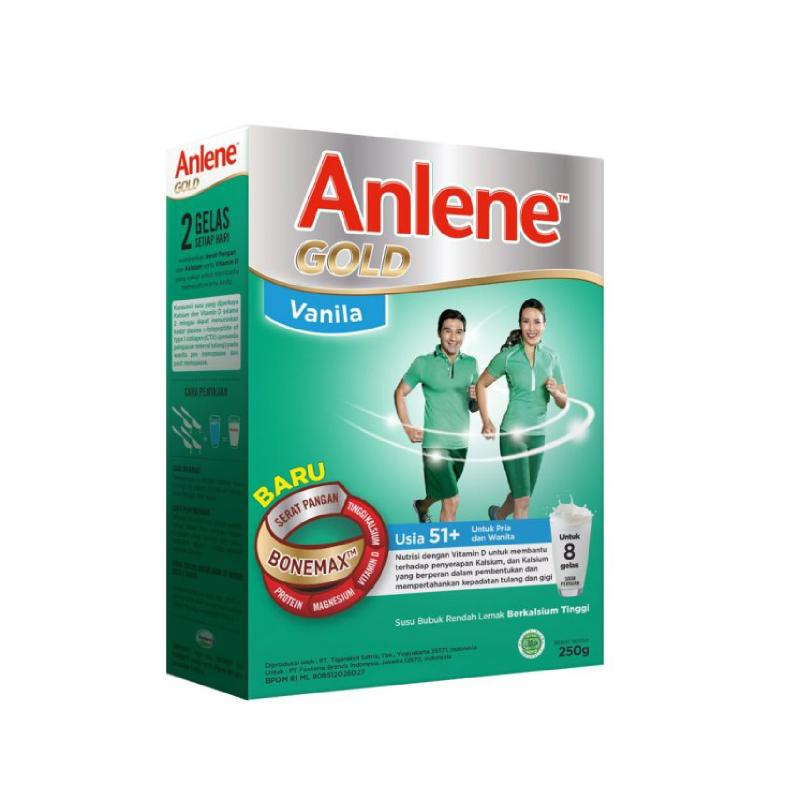 Anlene Gold Vanila  250 Gr