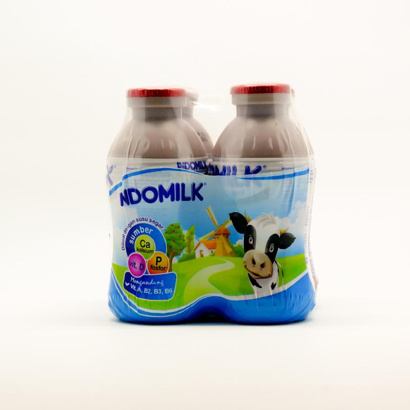 Indomilk Susu Cair Choco Multipack 4 X 190 Ml