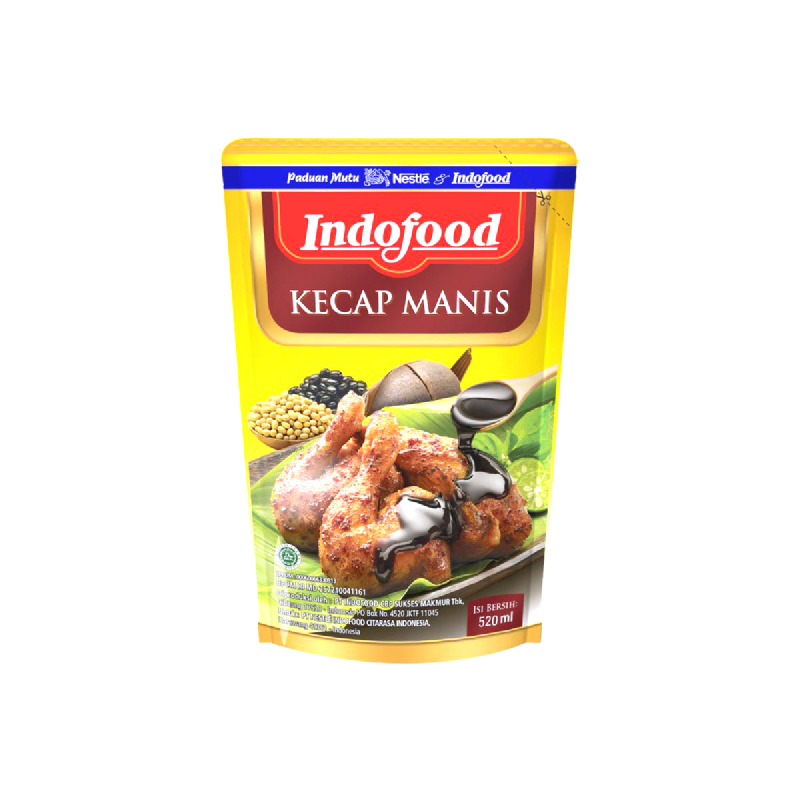 Indofood Kecap Manis Pouch 580 Ml