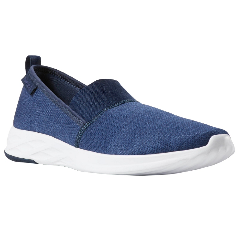 Reebok Astroride Slip On Men Running Shoes Navy