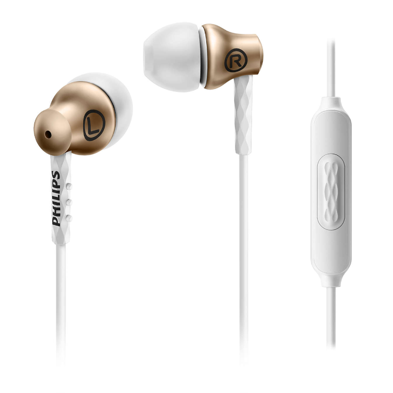 PHILIPS EARPHONE SHE8105 Gold