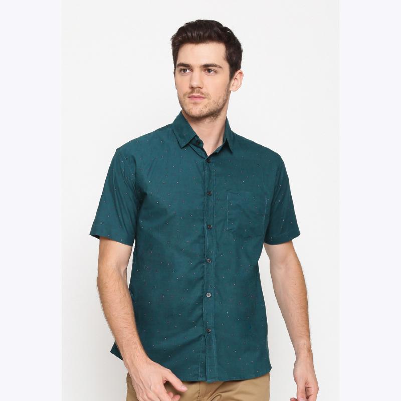 17Seven Shortshirt Edirne Dark Green